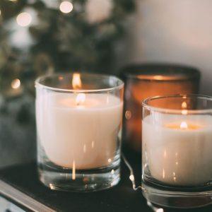 White Candles Burning