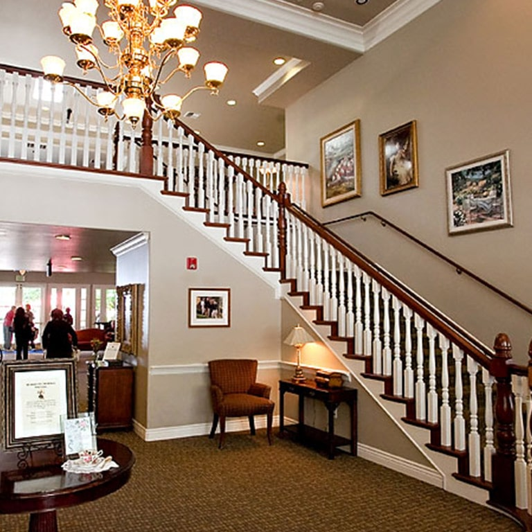 Great Room with staircase