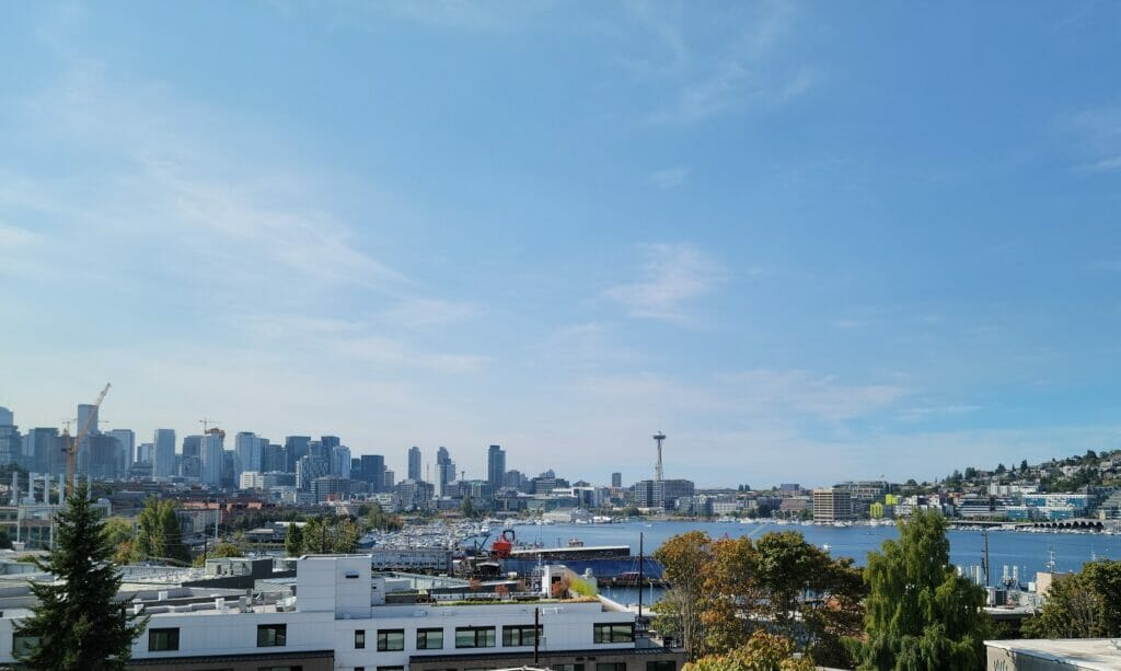Lake Union Sky Lounge View