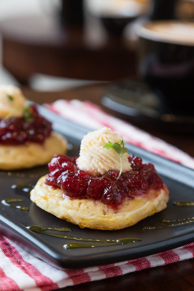 Crumpet With Jam | Lake Union (Seattle)