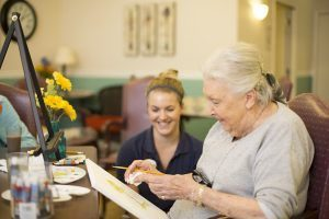 One of Aegis Living activities at their memory care facilities