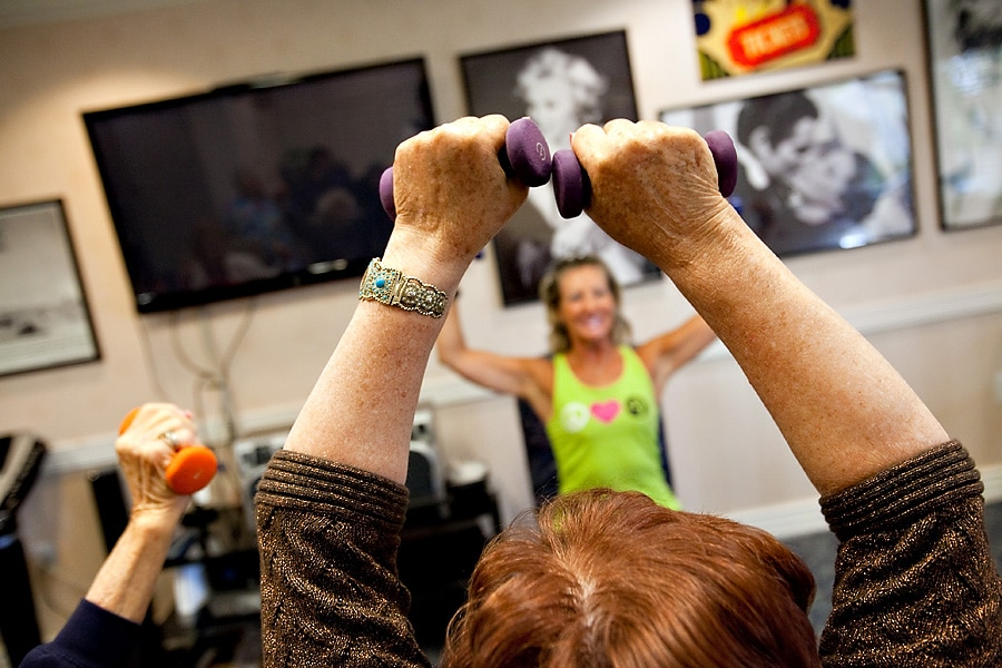 Weights In The Air | Aegis Lodge (Kirkland)