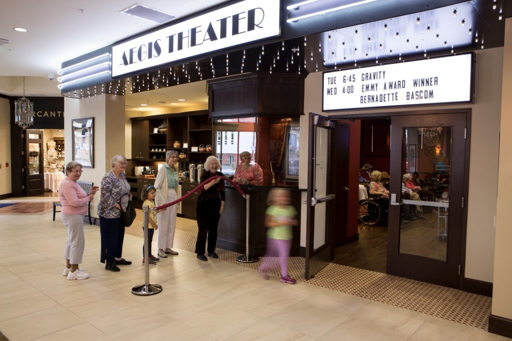madison theater booth