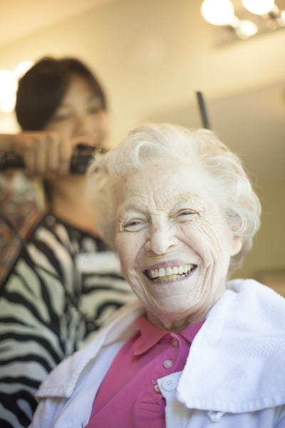 Resident Getting Hair Done | Redmond