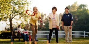 activities hero image people ring toss