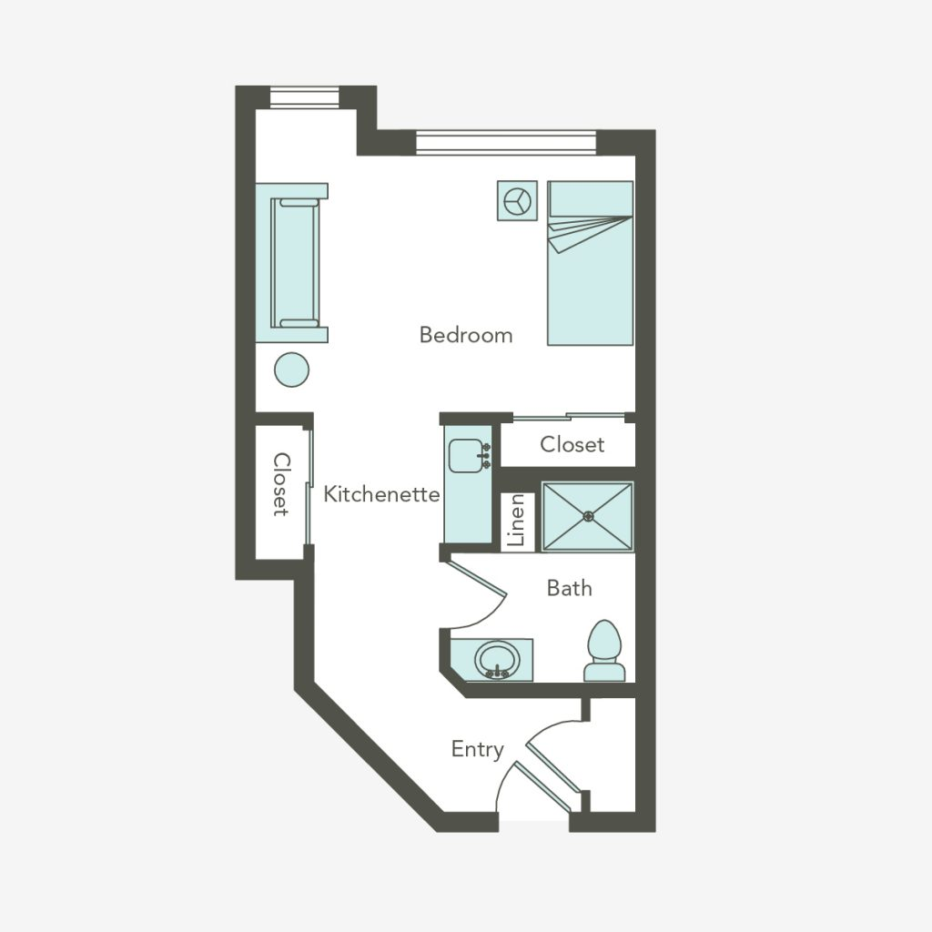 Large Studio Floorplan