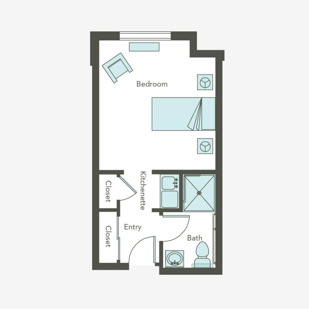 Assisted Living Small Studio | Carmichael