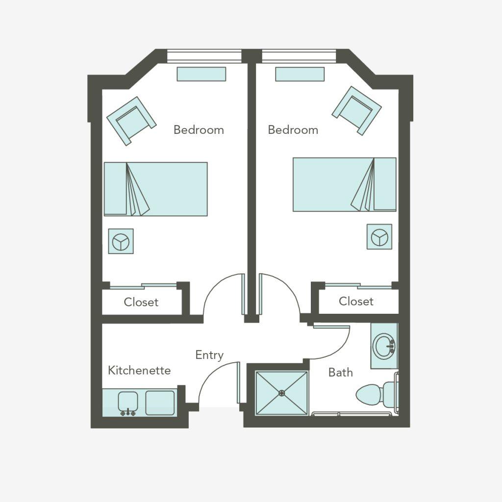 Memory Care Companion Suite | Aegis Gardens (Fremont, CA)