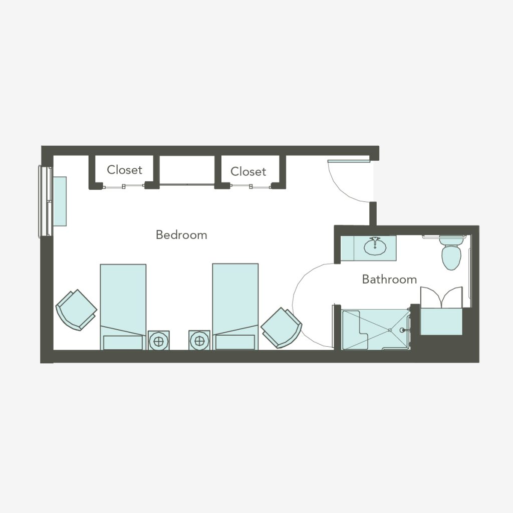 Companion Studio Floorplan