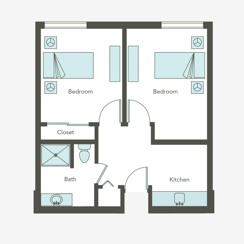 Companion Suite Floorplan
