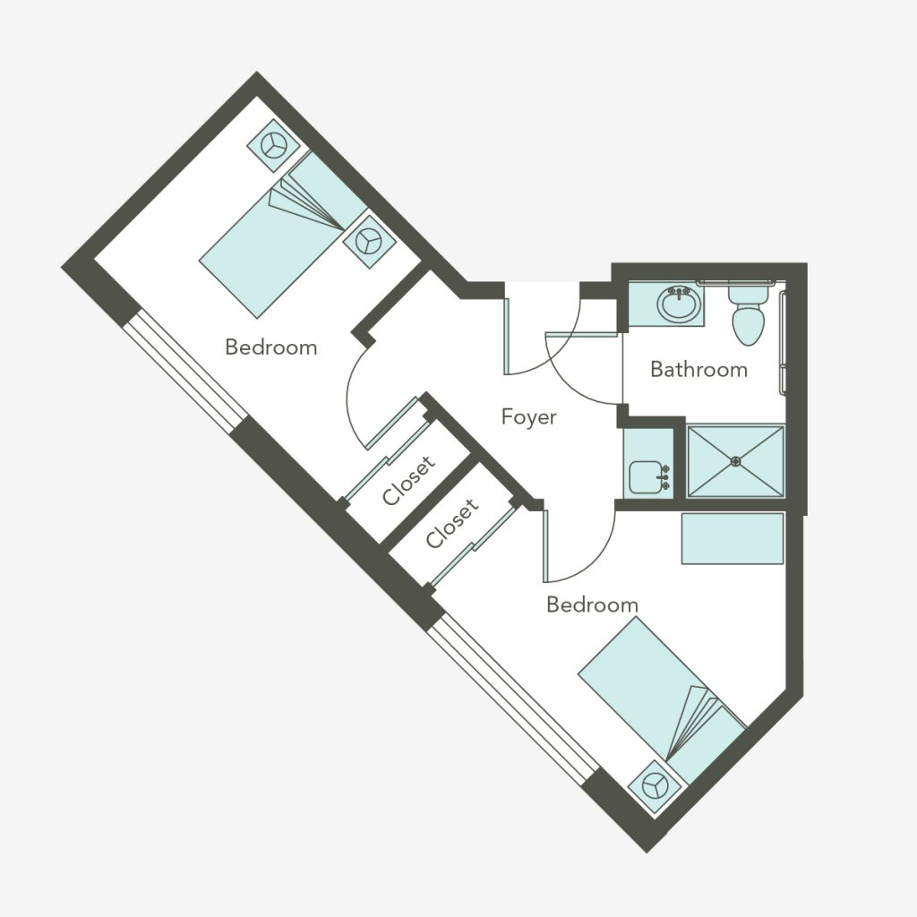 Companion Suite Floorplan