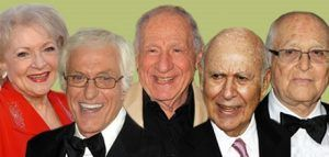 profile pictures of carl reiner and friends