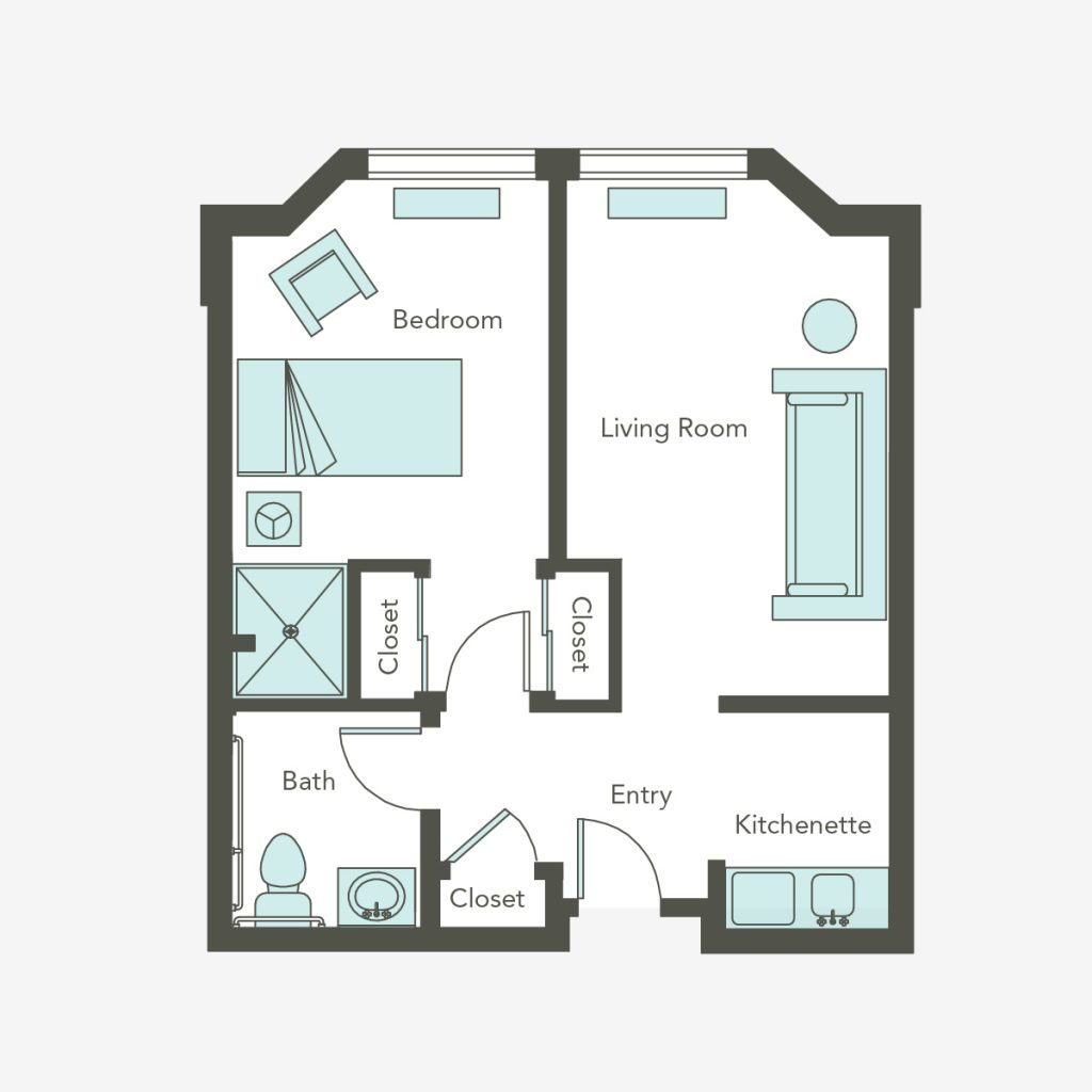 Assisted Living One Bedroom | San Francisco