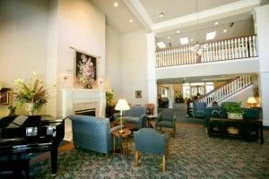 Lobby at Aegis at Shadowridge