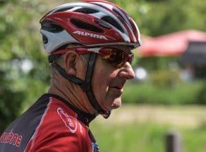 older bike rider