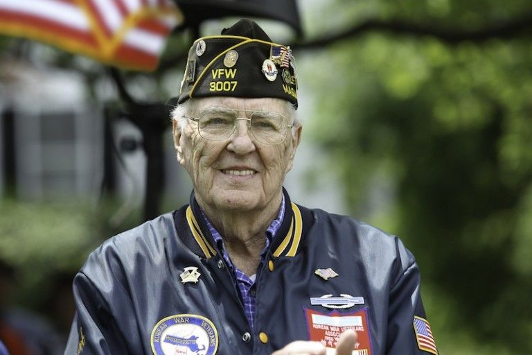 Image of a senior veteran