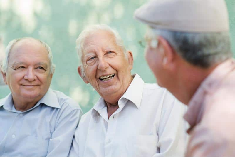 Staying socially engaged later in life is important to delaying the onset of Alzheimer's disease.
