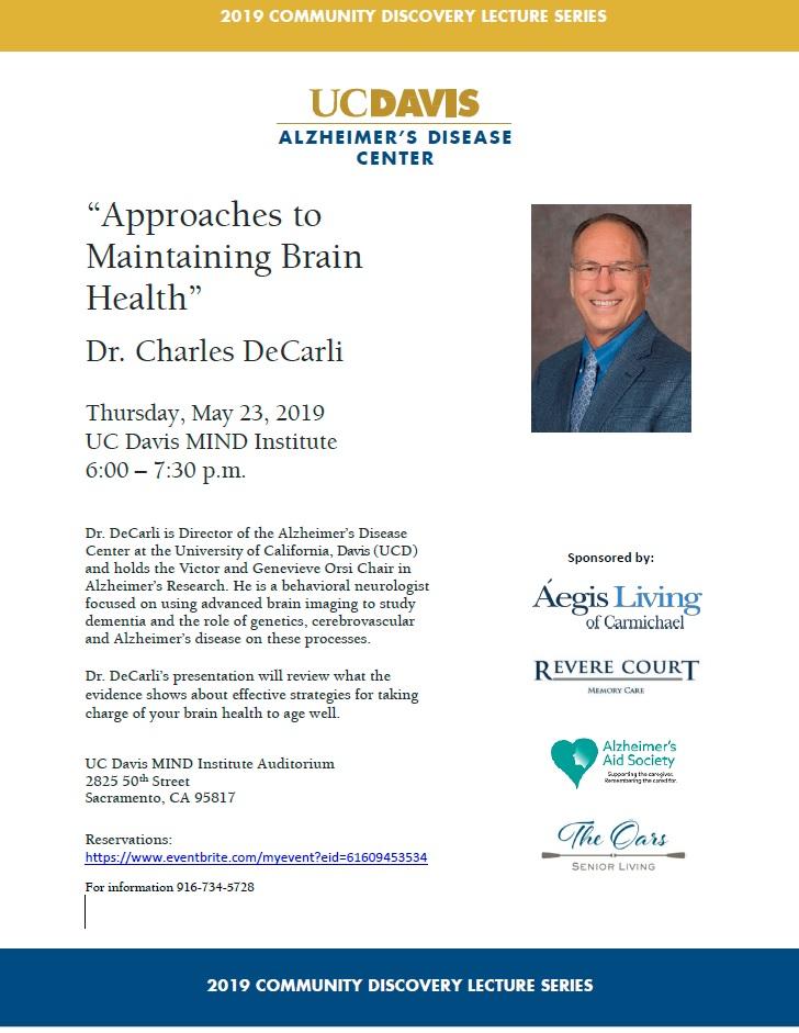 Charles DeCarli Seminar