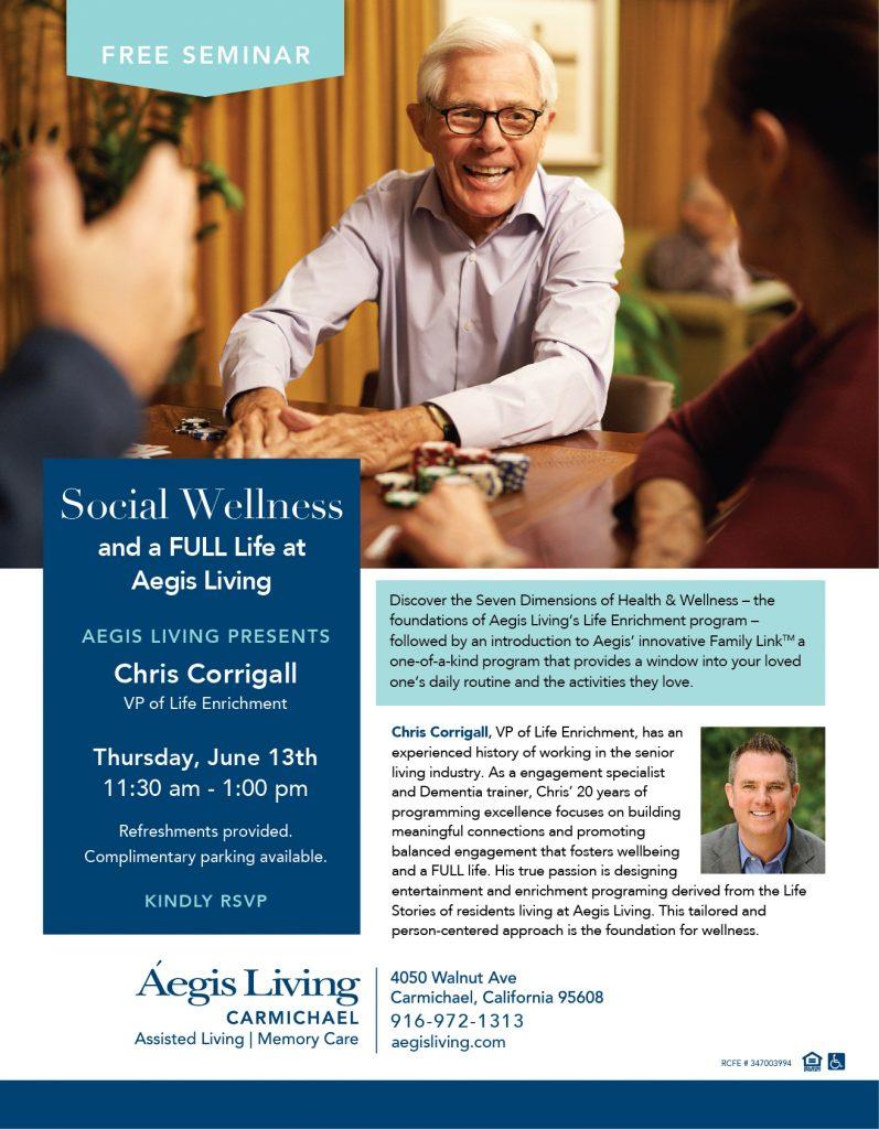 Chris Corrigall Seminar