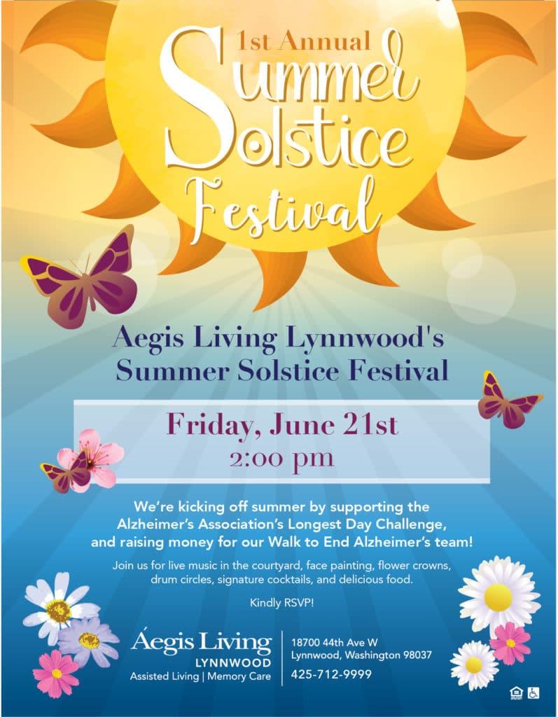1st Annual Summer Solstice Festival