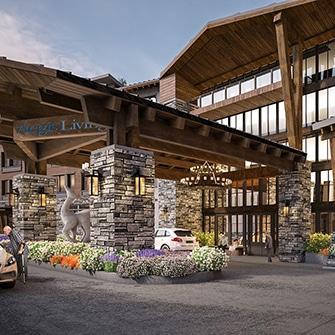 Conceptual Architectural Design for senior housing