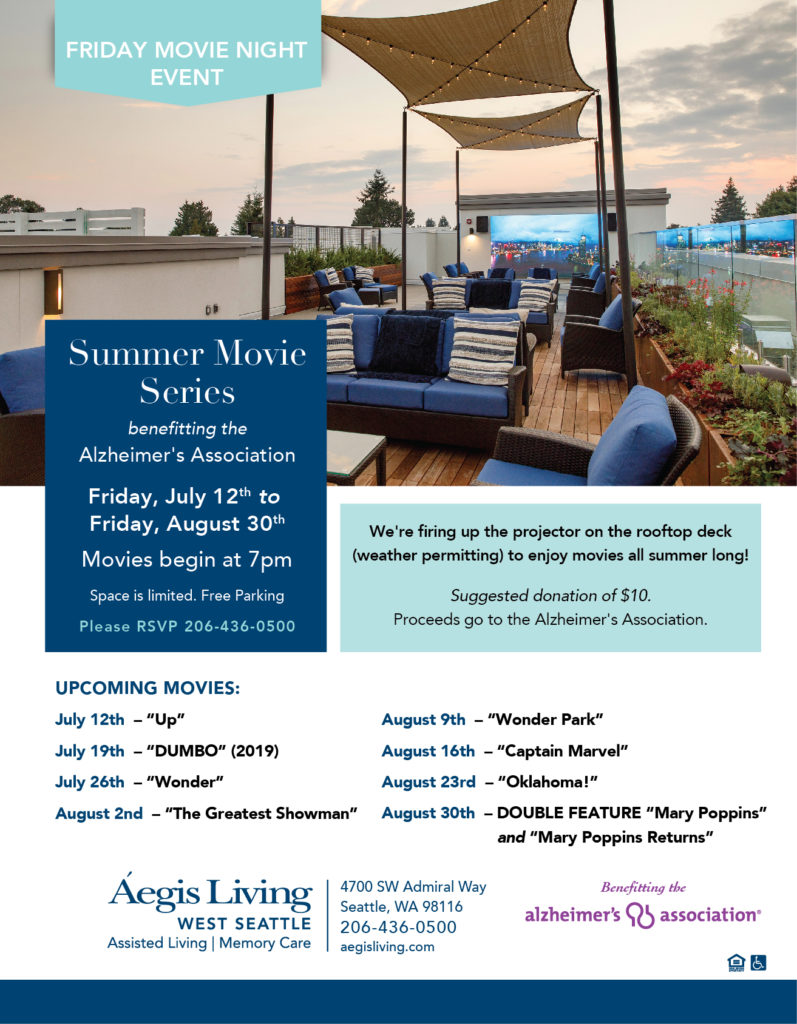west seattle summer movies