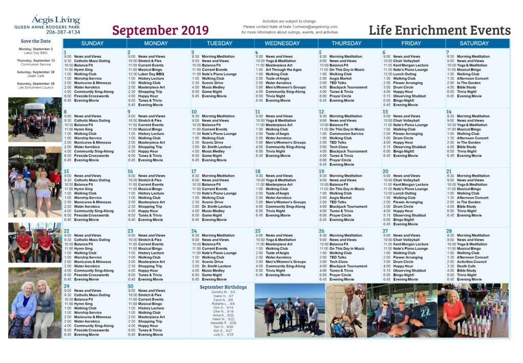 Rodgers Park - September 2019
