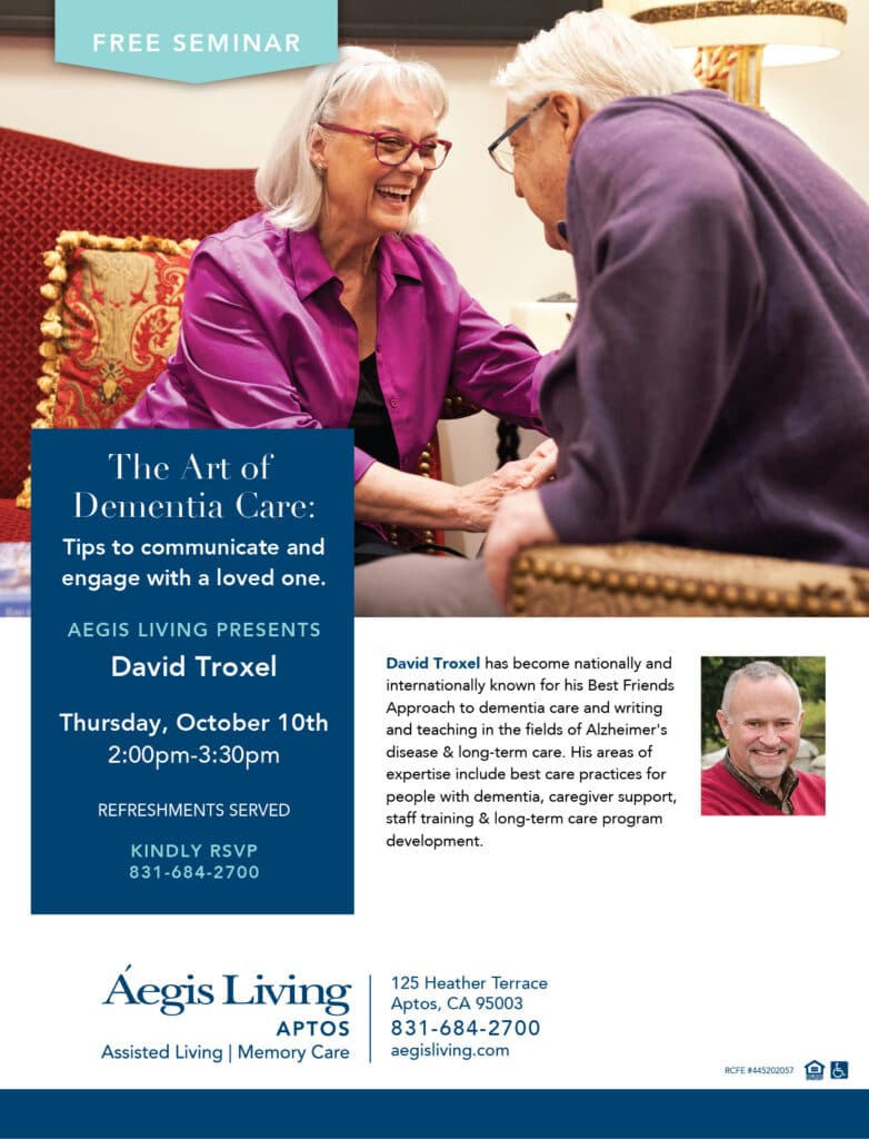 aptos david troxel event flyer