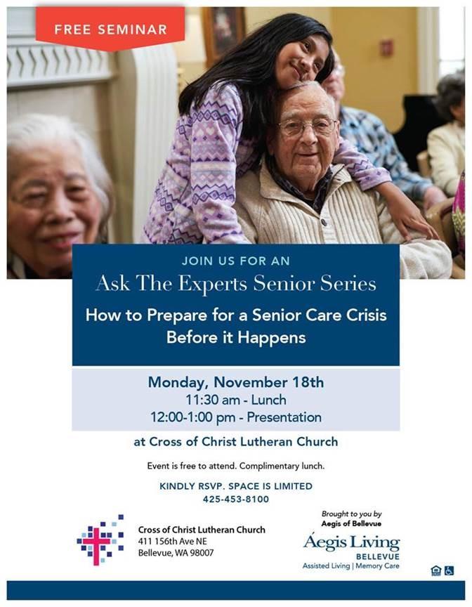 Bellevue Senior Care event
