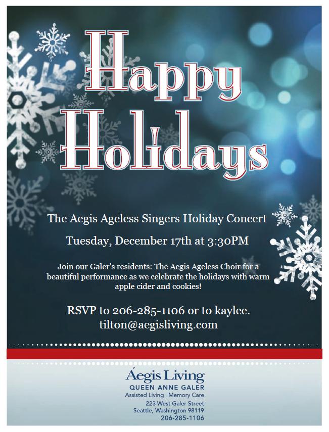 Holiday Concert | Aegis Living