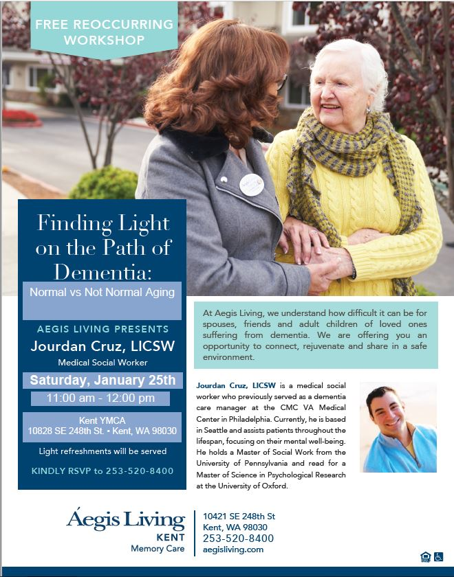 Finding Light on the Path of Dementia | Aegis Living