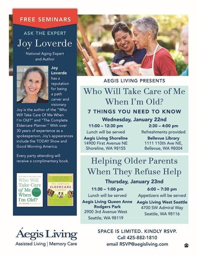 Joy Loverde events