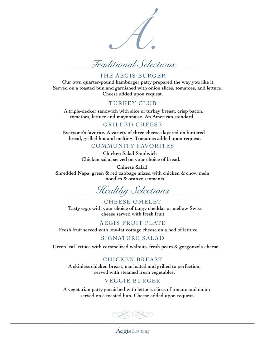 What We Offer - Dining  