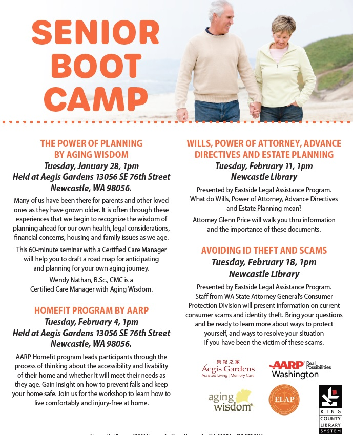 senior boot camp