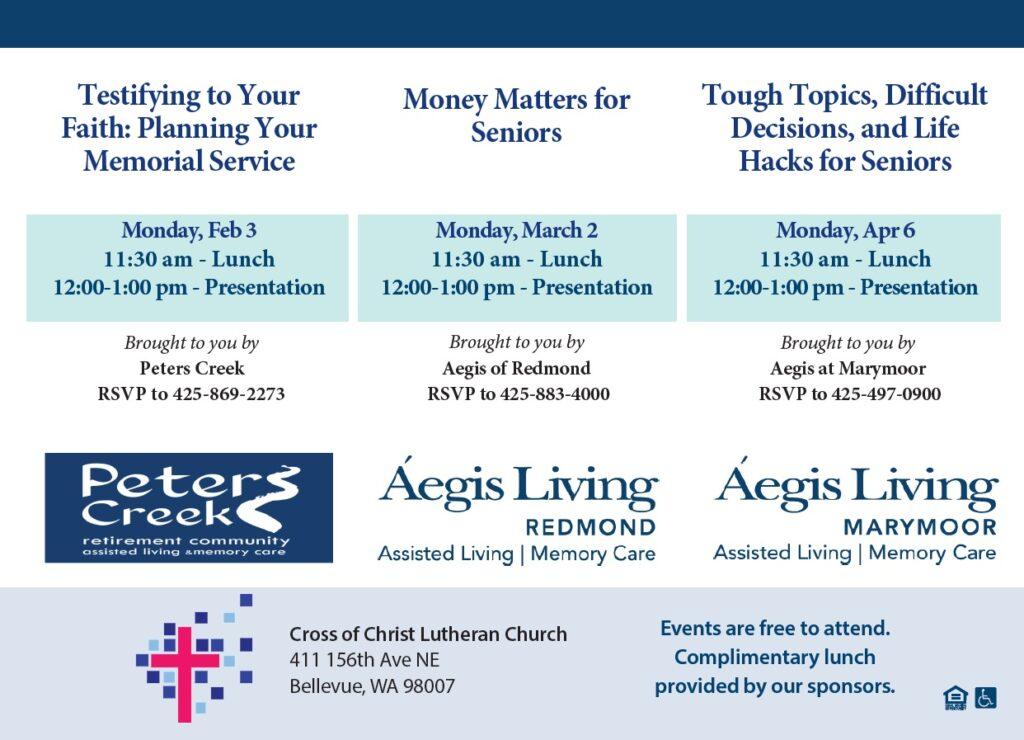 Money Matters for Seniors | Aegis Living