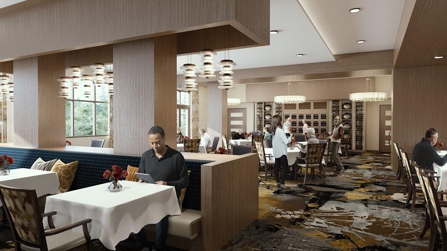 overlake dining room rendering