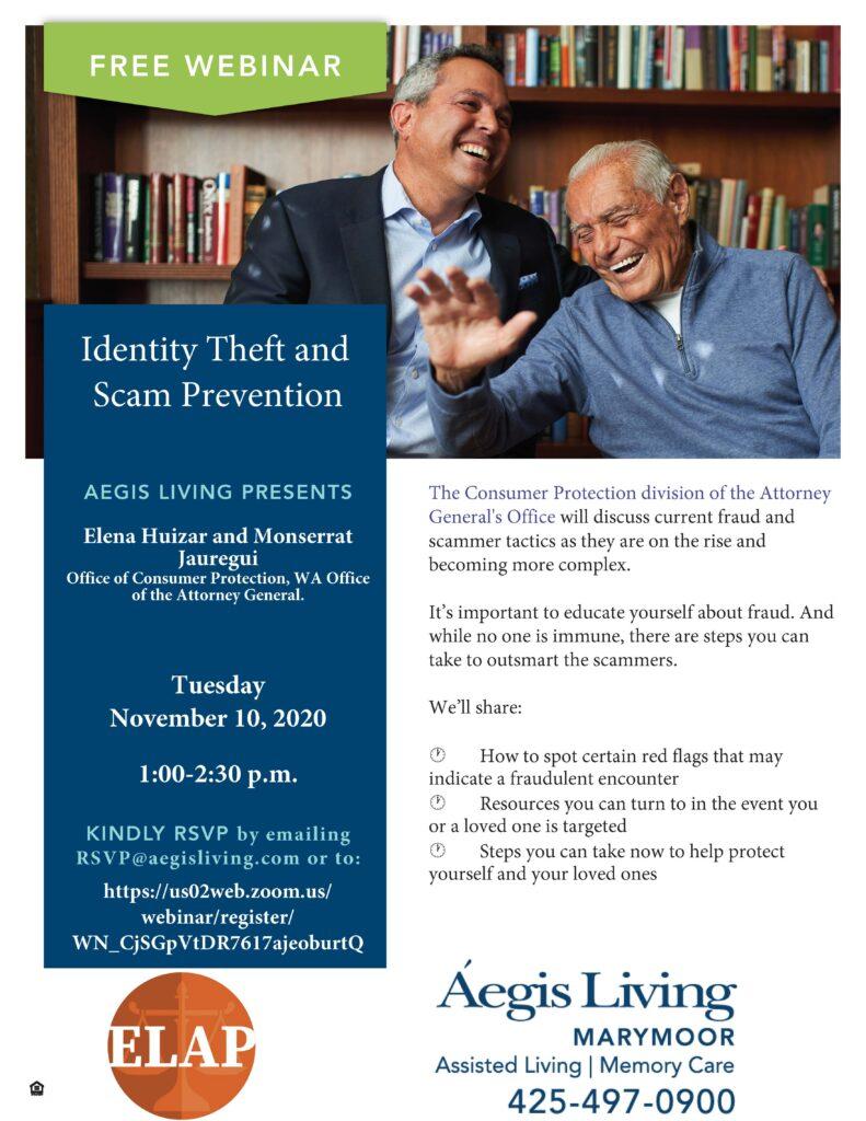 Nov 10 Fraud Prevention Event