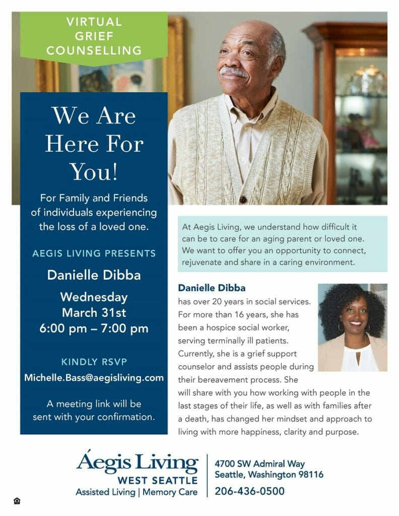 Grief Counseling Event