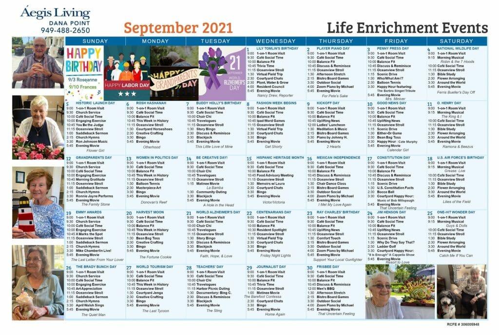Dana Point September 2021