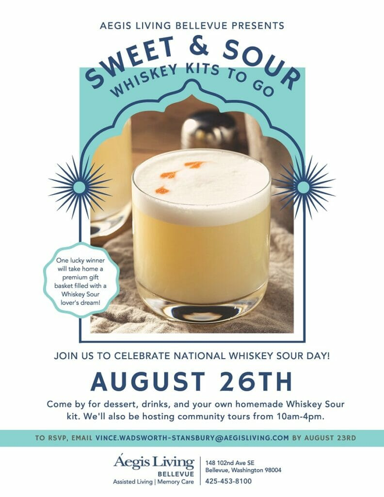 Bellevue Whiskey Sour Day Event